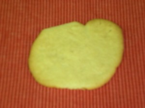 """Turkey"" Cookie"