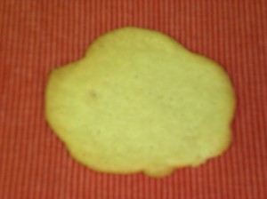 """Leaf"" Cookie"