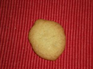 """Acorn"" Cookie"