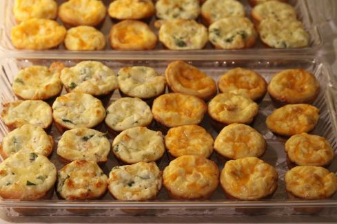 Mini Party Quiches!