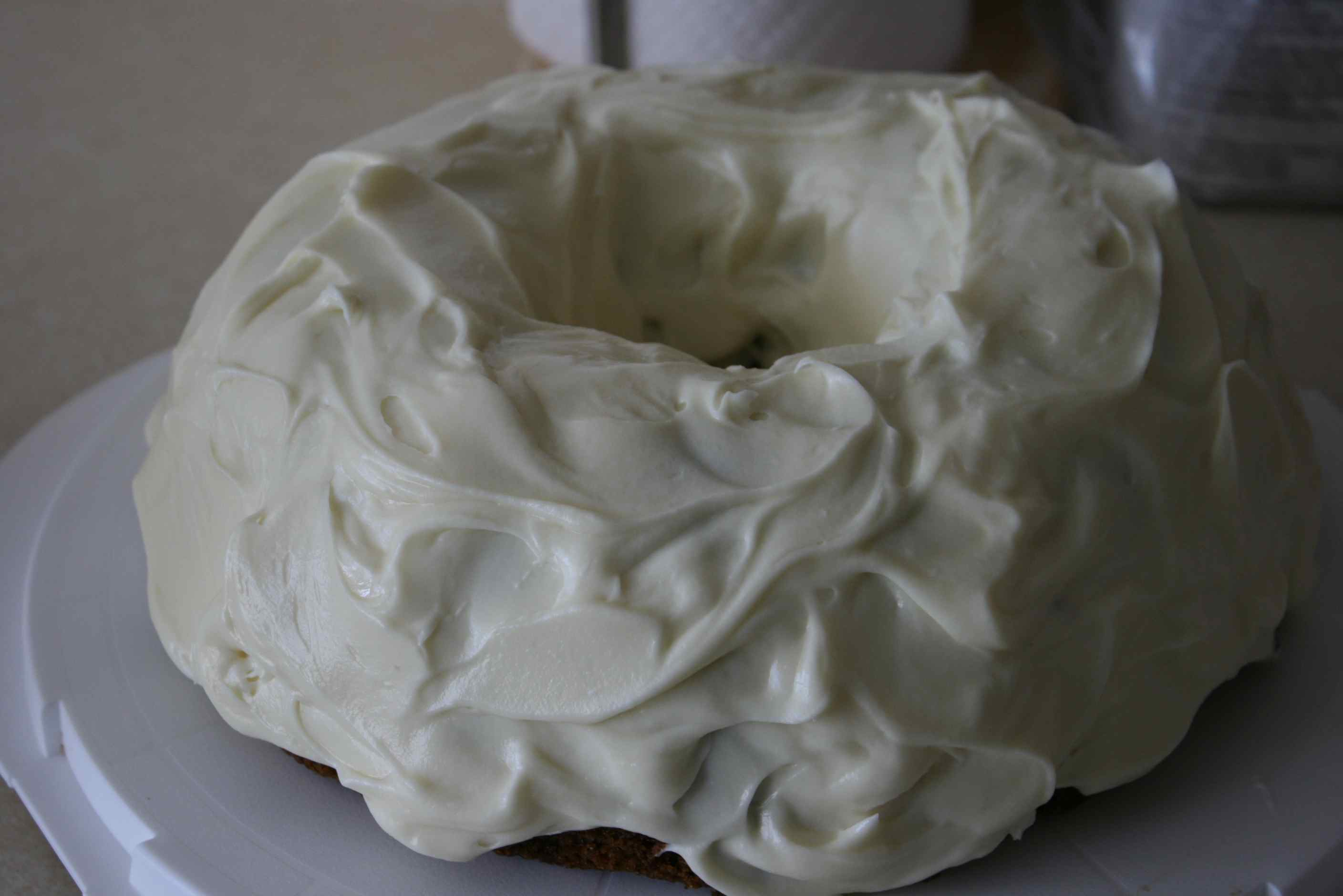 What's the best thing you've put cream cheese frosting on? I'd ...