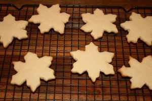Sugar Snowflake Cookies