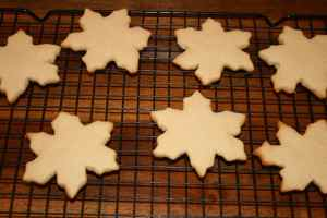 Plain Snowflake Cookies