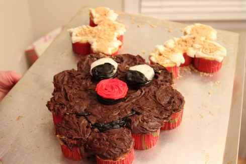 Rudolph Cupcakes!