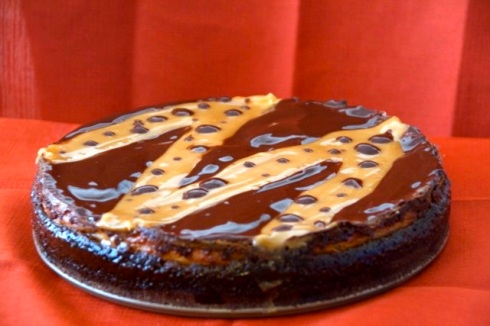 Brownie Caramel Cheesecake