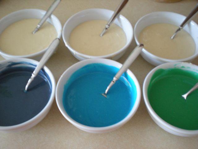 Rainbow Tie-Dye Cake! (2/6)