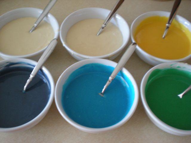 Rainbow Tie-Dye Cake! (3/6)