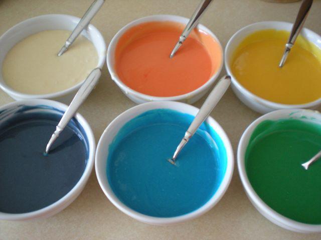 Rainbow Tie-Dye Cake! (4/6)