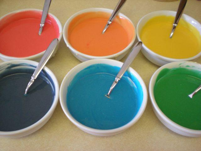 Rainbow Tie-Dye Cake! (5/6)