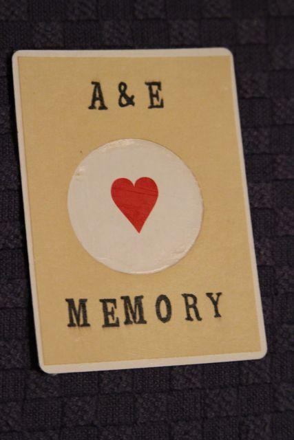 DIY: Memory Game (5/6)