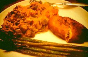Leftovers Dinner