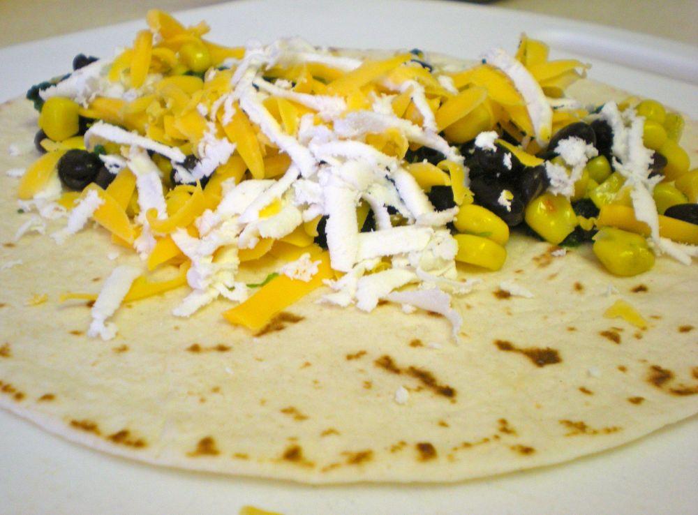 Spinach, Corn & Black Bean Enchiladas (3/5)