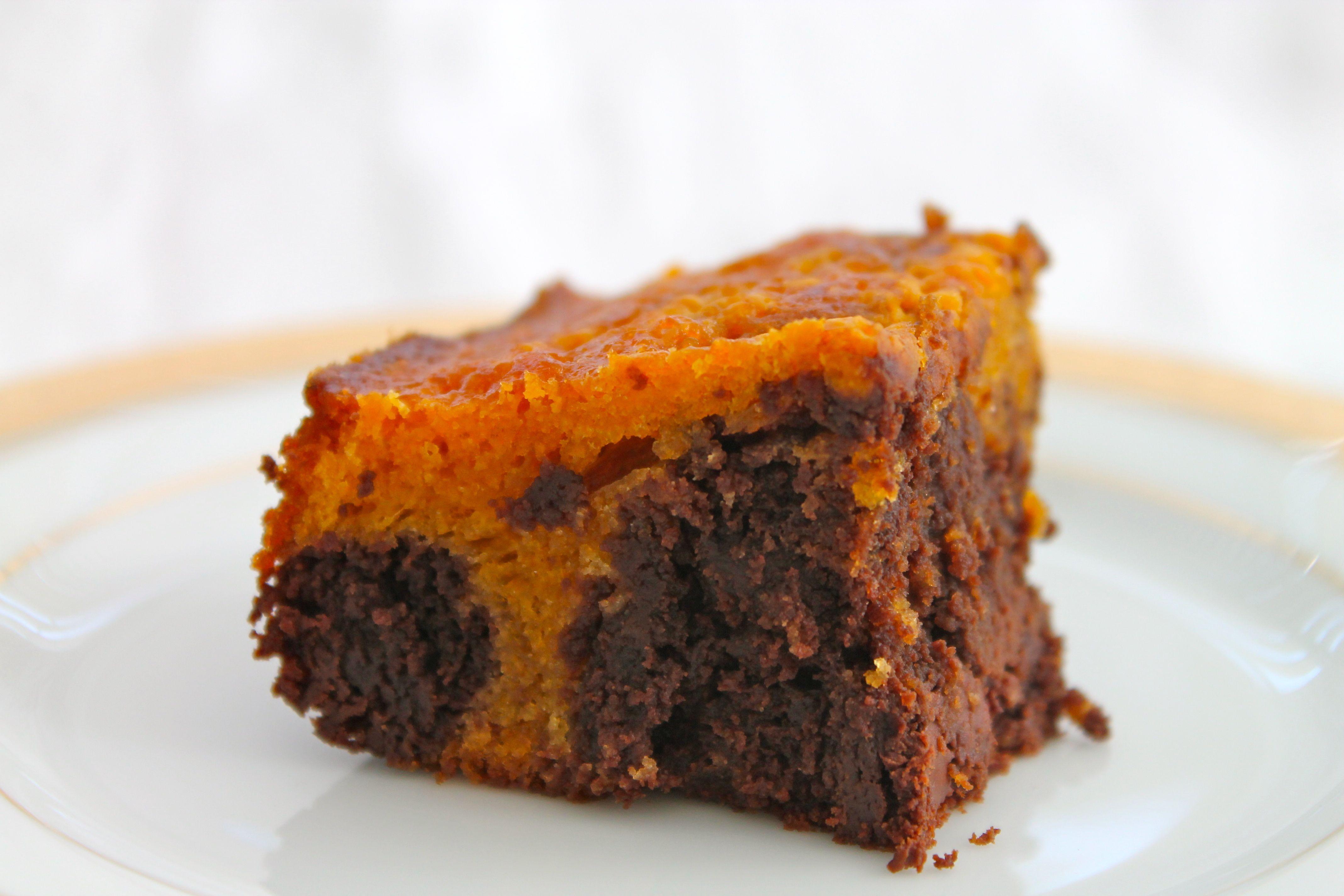 Pumpkin Brownies | Wine & Plum