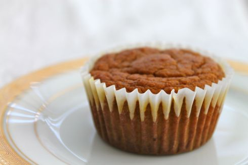 Whole Wheat Pumpkin Muffin