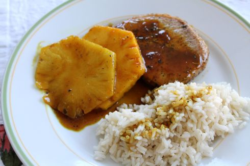 Pineapple Porkchops