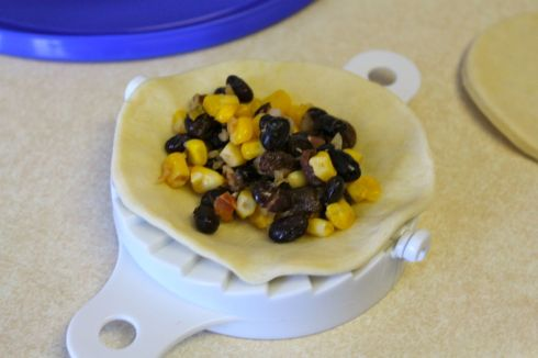Black bean & corn filling