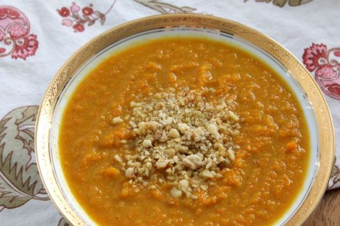 Curry Carrot & Rutabaga Soup