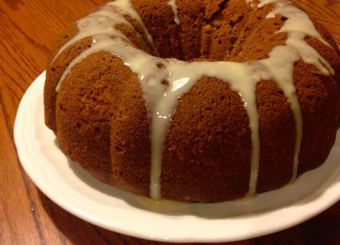 Apple Honey Cake