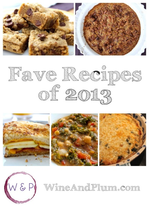 Favorite Recipes of 2013