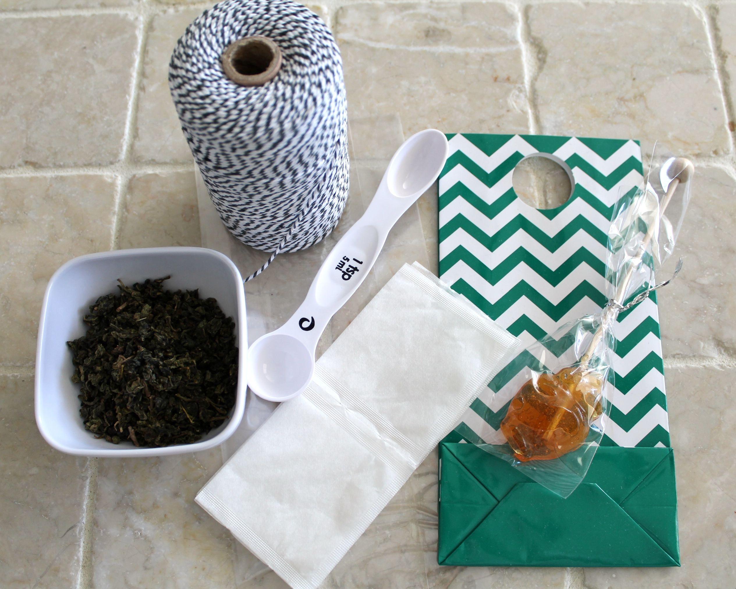 Diy Tea Honey Gift Set Wine Plum